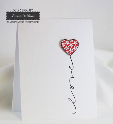 1120 best images about Card Making Inspiration LadiesGirls on – Simple Valentines Cards