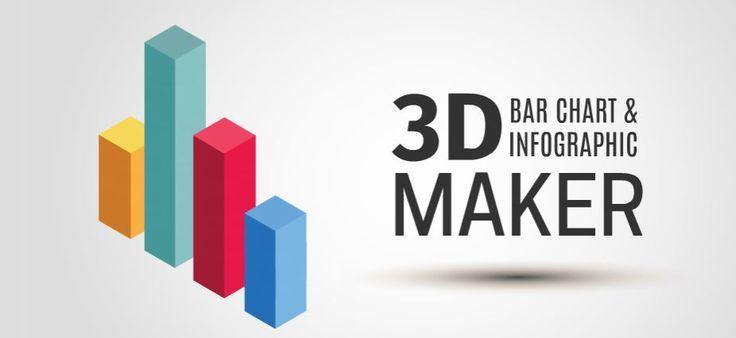 3D Bar Chart Maker Presentation Template   ShareTemplates