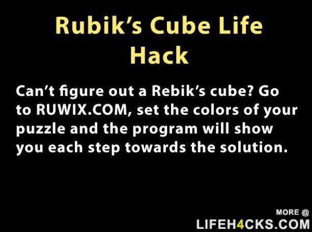 Rubiks Cube Life Hack Cube Rubiks Rubikscube Diycuttingboard