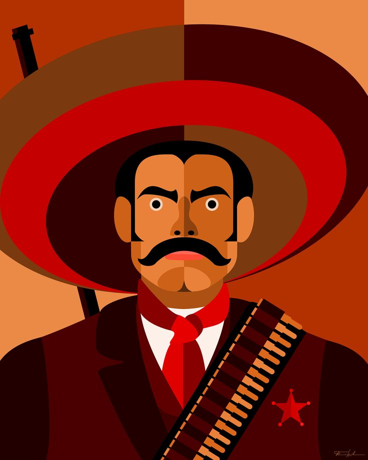"""Check out my @Behance project: """"Zapata"""" https://www.behance.net/gallery/49862017/Zapata"""
