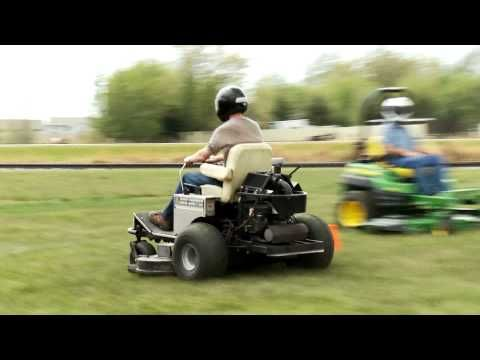 Zero Turn Mower Race 2011 - YouTube