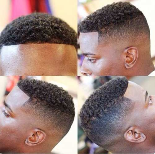15 Kinds of Fade Haircuts for Black Males   Men Hairstyles