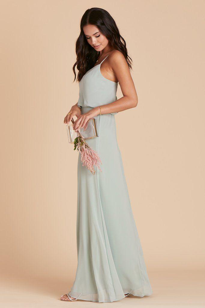 Gwennie Dress - Sage   Grey bridesmaid