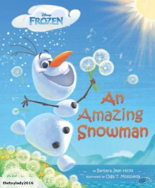 """Featuring Olaf, the happy-go-lucky comic relief of Disney's """"Frozen,"""" this humorous tale of what it means to dream is told in verse and features charming illust..."""