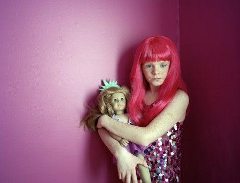 Now thru 7/3 at the Foley Gallery, NYC: Iola Szwarc's award-winning AMERICAN GIRLS