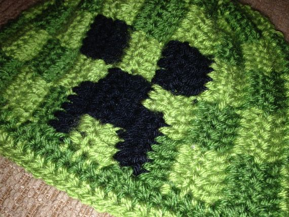 Crochet Minecraft Hat Pattern Gallery Knitting Patterns Free Download