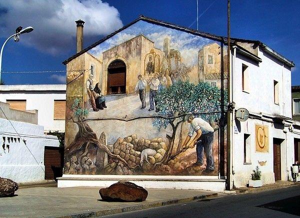 Murales a San Sperate, Cagliari