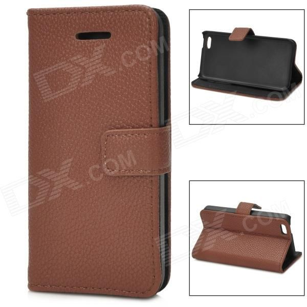 Brand: N/A; Quantity: 1 Piece; Color: Brown; Material: PU leather; Compatible Models: Iphone 5C; Other Features: Protects your device from scratches dust and shock; Packing List: 1 x Protective case; http://j.mp/1v2GR1o