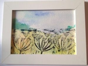 Image of Cowslip Lino Print - Josieandbella Designs