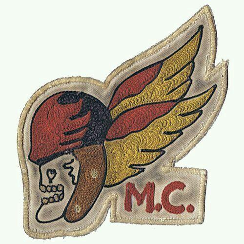 Old Hells Angel Deathhead Logo | Rat rod | Hells angels
