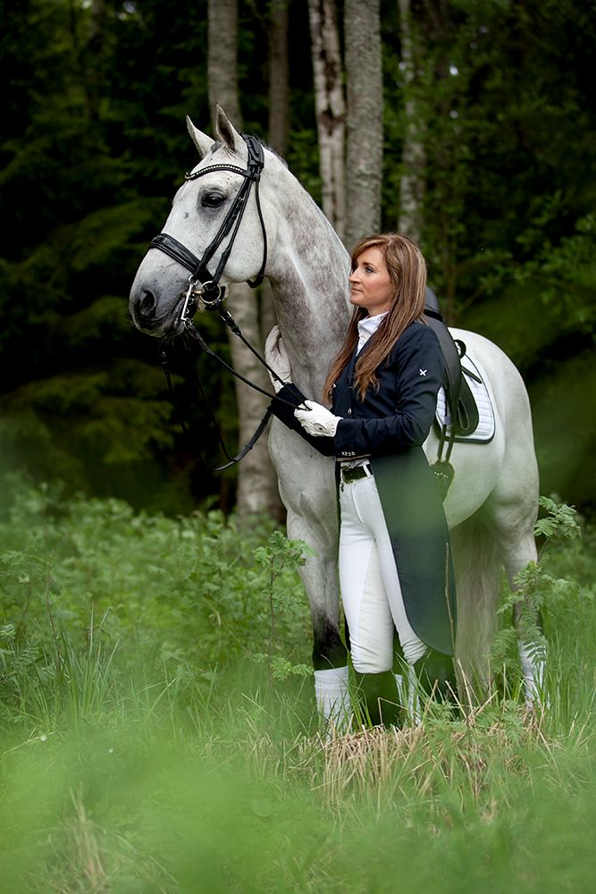 Sophia BACKLUND, Finnish Dressage athlete. Korsholms Sportryttare