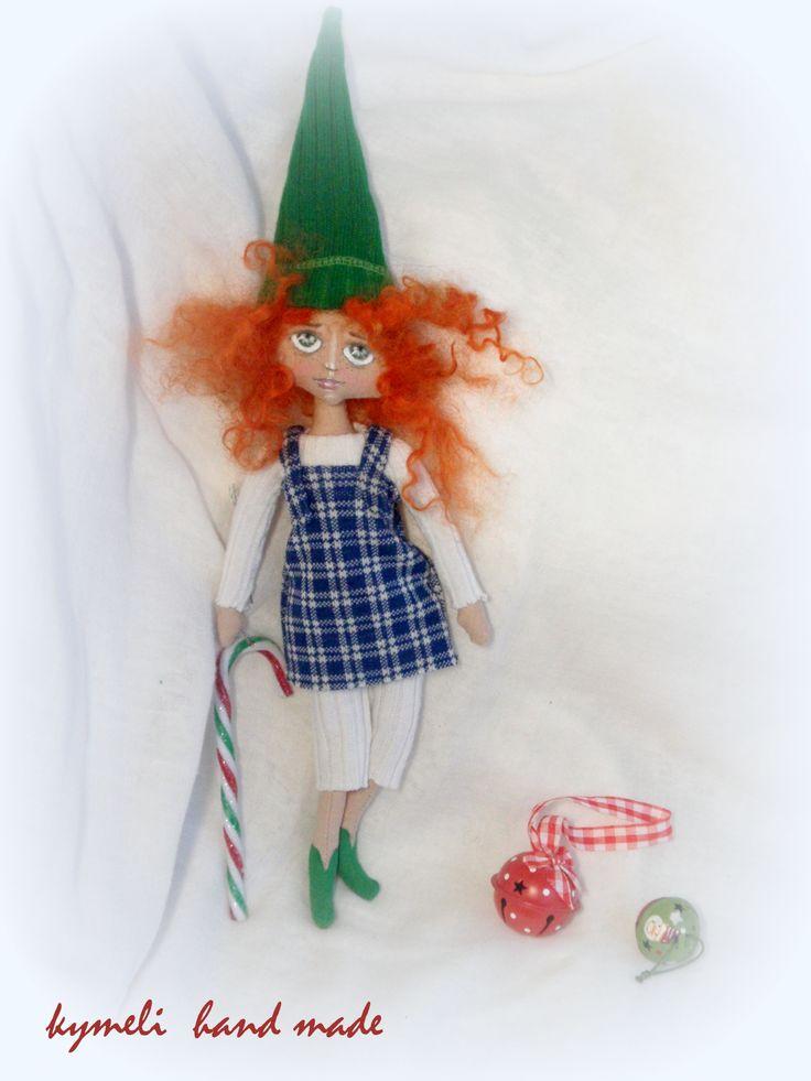 Elf , little Art Doll by kymeli