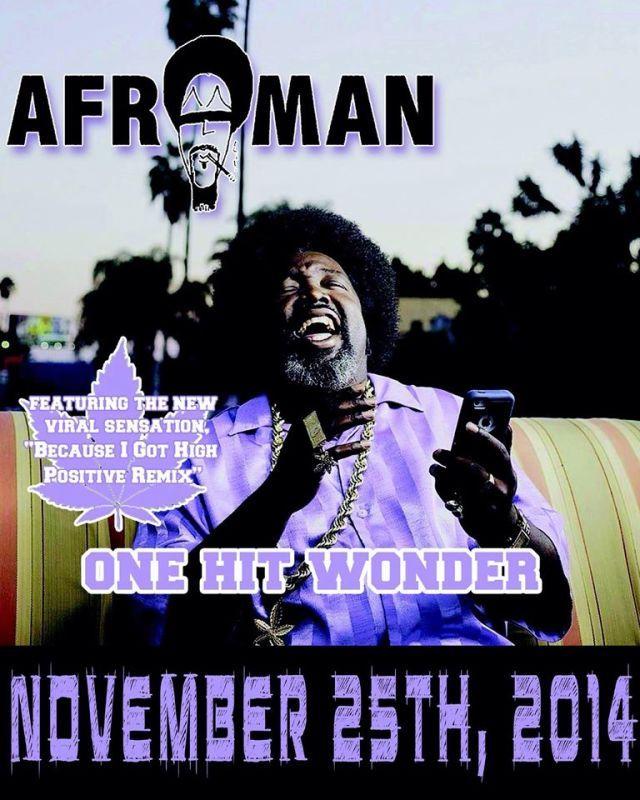 O Afroman συνελήφθη για βιαιοπραγία