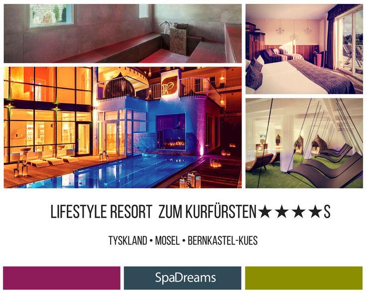 💎Lyx och stil i moderna LifeStyle Resort zum Kurfürsten★★★★s💎  ☀️Tyskland • Rhen/Mosel/Taunus • Bernkastel-Kues☀️  💆Upplev härliga spabehandlingar i ett extravagant hotell💆  💝3 nätter från 3 436 SEK💝  Boka här 💝  https://www.spadreams.se/lifestyle-resort-zum-kurfursten-bernkastel-kues-rhen-mosel-taunus-h815/