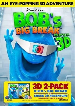 Dreamworks B.O.B.'s Big Break/Shrek 3D