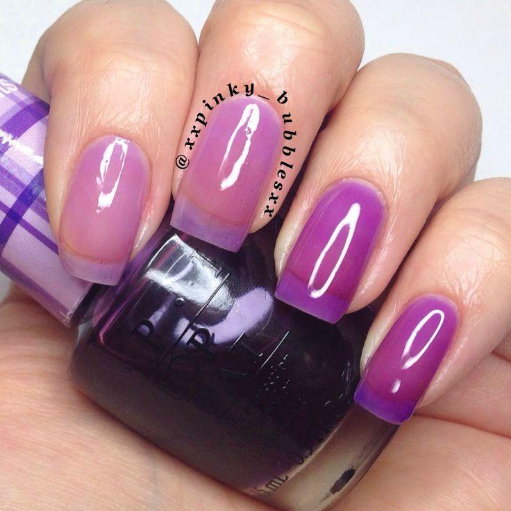 O.P.I - Sheer Tints - Don't Violet Me Down   Nail Polish ...