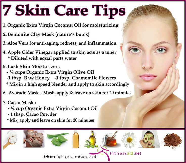 For Proper Care Of Your Skin