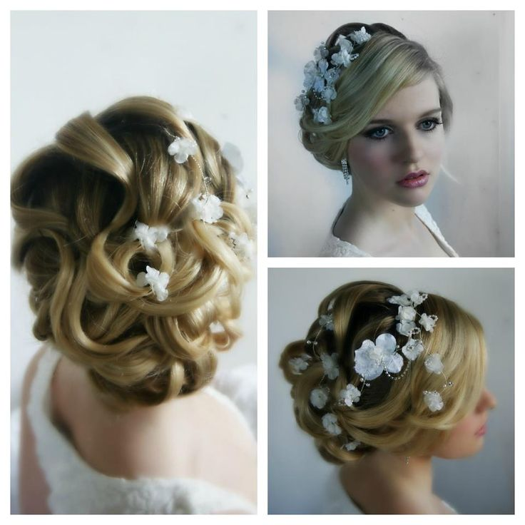 elegant wedding hairstyle for the bride