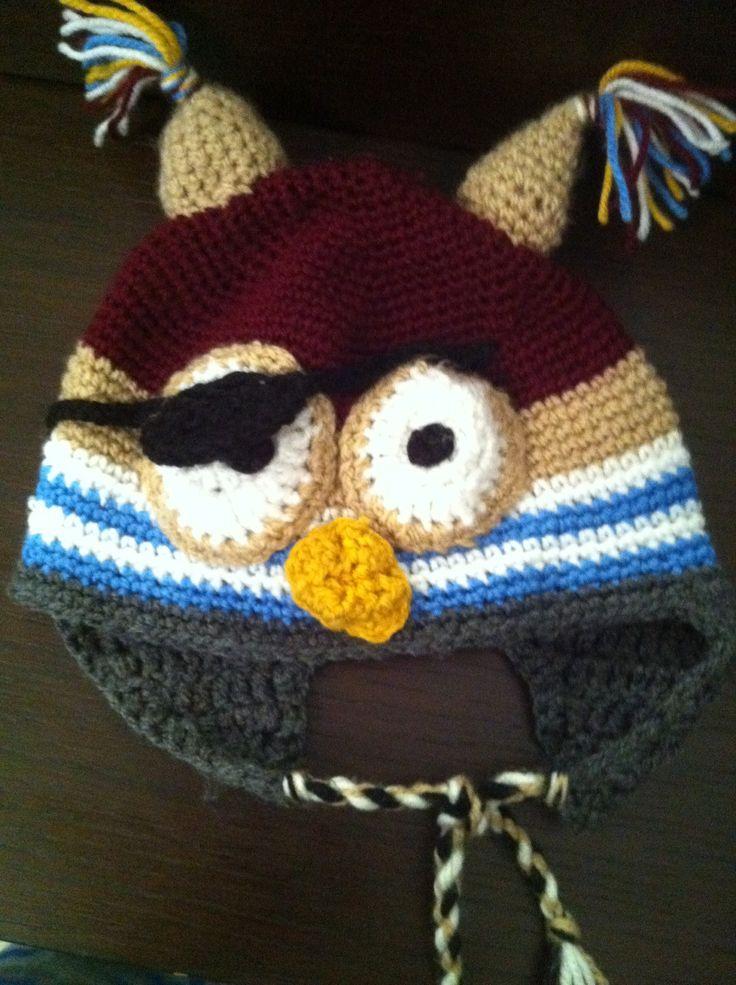 Sowa pirat czapka dla syna
