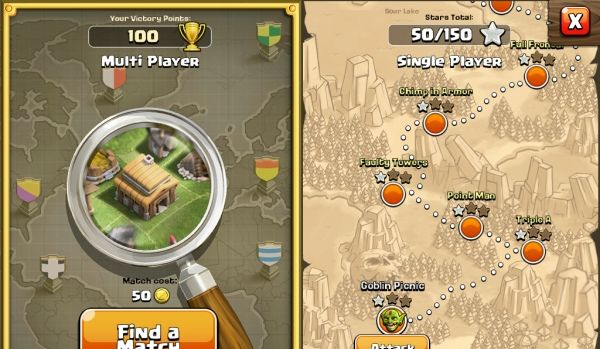 Trick #3: Don't break your shield when you start playing  Tip #3: After you upgrade your town hall to a higher level you get 25 more walls use them and upgrade them