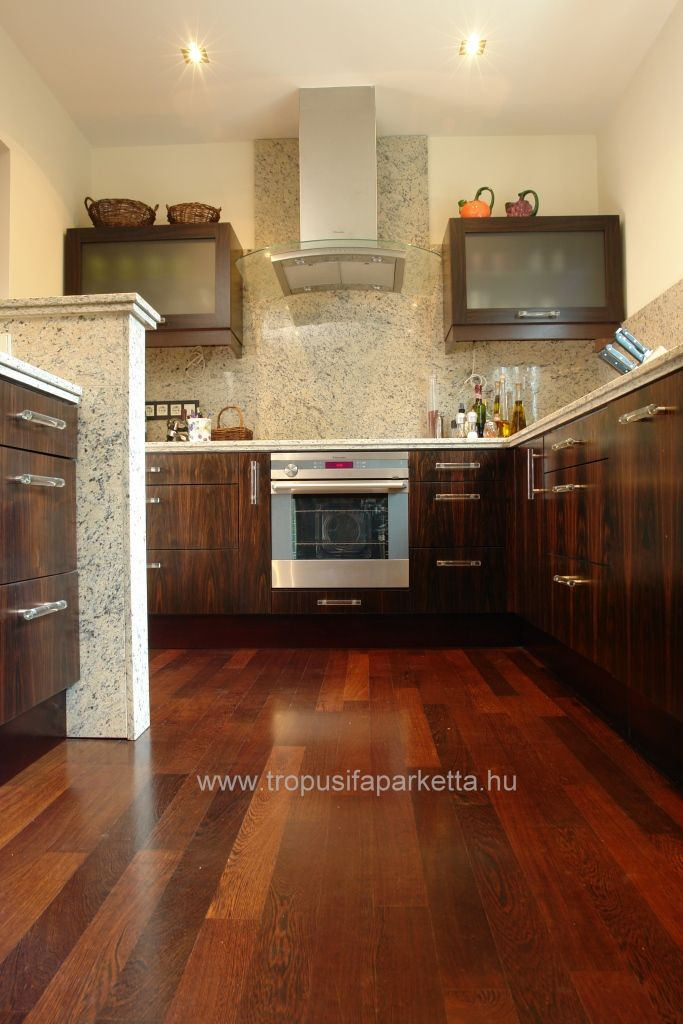 Wenge solid floor