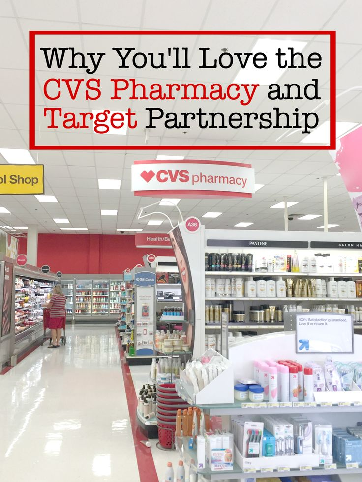 Why You'll Love the CVS Pharmacy and Target Partnership