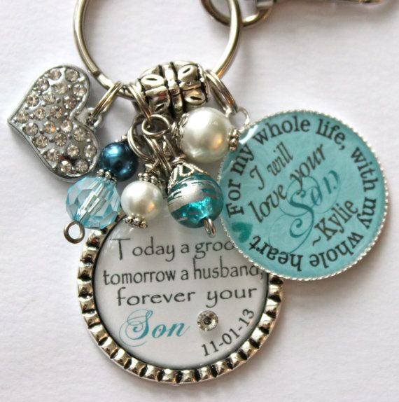 Mother of Groom gift from Bride Today a groom tomorrow a husband forever your son I will love your son for my whole life with my whole heart on Etsy, $29.99