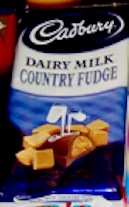 Cadbury Dairy Milk Country Fudge. An amazing NZ only chocolate block.
