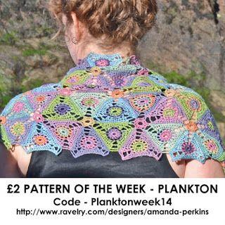 Amanda's Crochet Blanket Adventures : Plankton Scarf - Pattern of the Week
