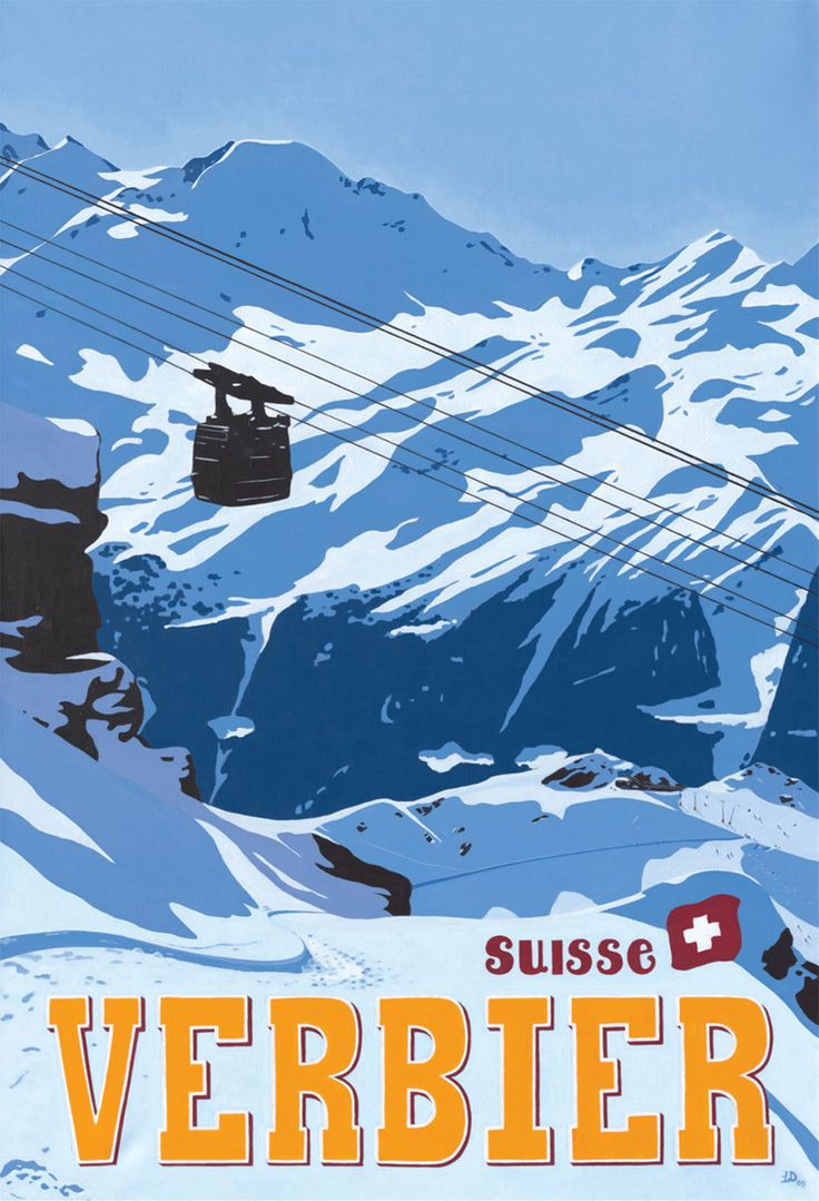 Ski Verbier ~ Valais