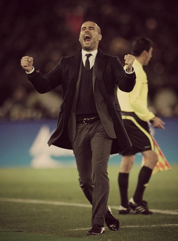 Genius. Legend. Pep Guardiola.