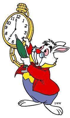 The White Rabbit Clipart from Disney's Alice in Wonderland ... - ClipArt Best - ClipArt Best