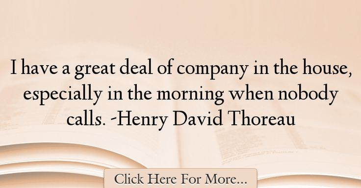 Henry David Thoreau Quotes About Great - 31055