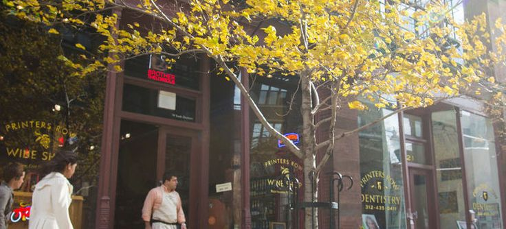About South Loop - Chicago Neighborhoods - Choose Chicago Printer's Row/Gentile's Wine Shop