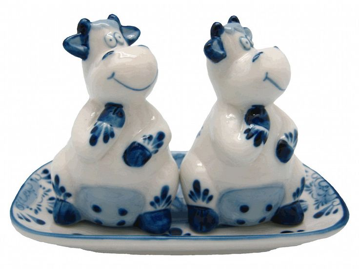 Captivating Ceramic Salt And Pepper Sets Happy Cows Gift Idea