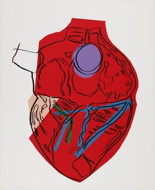 Andy Warhol | Heart (ca. 1982) | Available for Sale | Artsy➕More Pins Like This At FOSTERGINGER @ Pinterest✖️