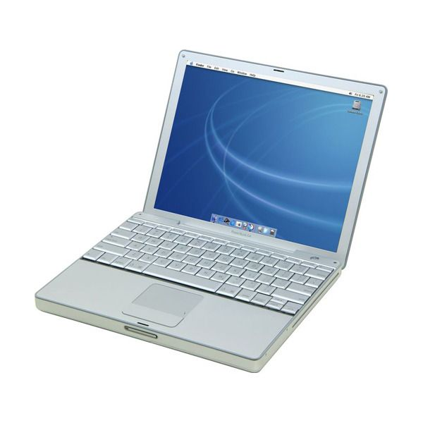Announced in January 2003, the 12-inch PowerBook G4 had an aluminum housing and G4 processor, as well as a then new logic board redesign that included DDR RAM, internal Bluetooth, and support for Apple's Airport Extreme.