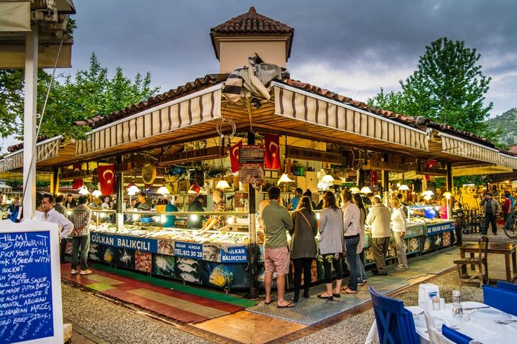 Fethiye Fish Market, Turkey