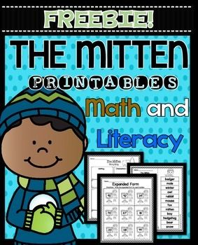 The Mitten by Jan Brett FREEBIE! Prinables This freebie is 7 pages from my 53 page pack of The Mitten Printables! Click below to see: THE MITTEN PRINTABLES