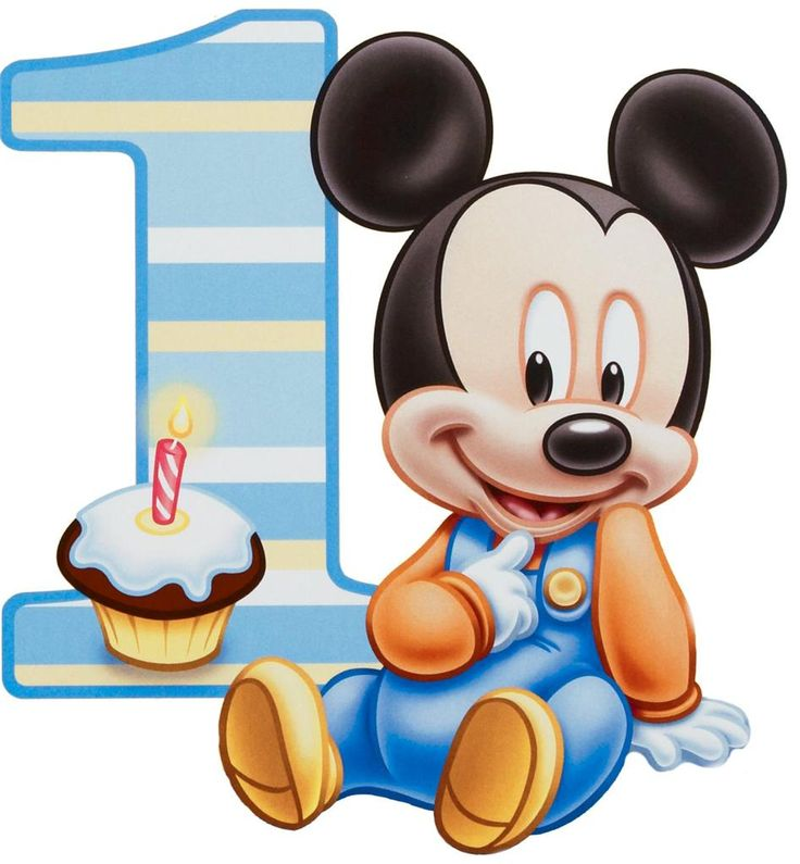 Baby Mickey 1 Year Cake: Outline and pipe in buttercream?