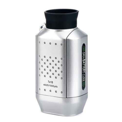 HDE Pocket Size Digital Precision Golf Rangefinder Distance Measure Scope Monocular