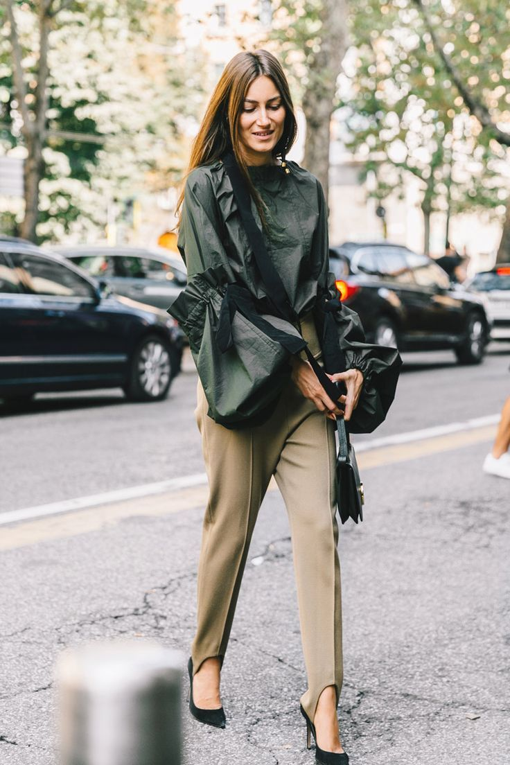 awesome Giornale di moda - Milan Fashion Week SS17 Street Style - September 2016...