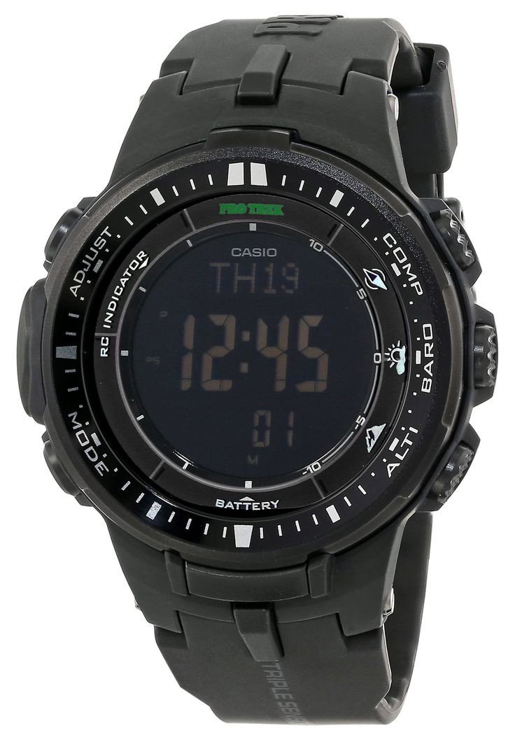 "Casio Men's PRW-3000-1ACR ""Protrek"" Sport Watch:"