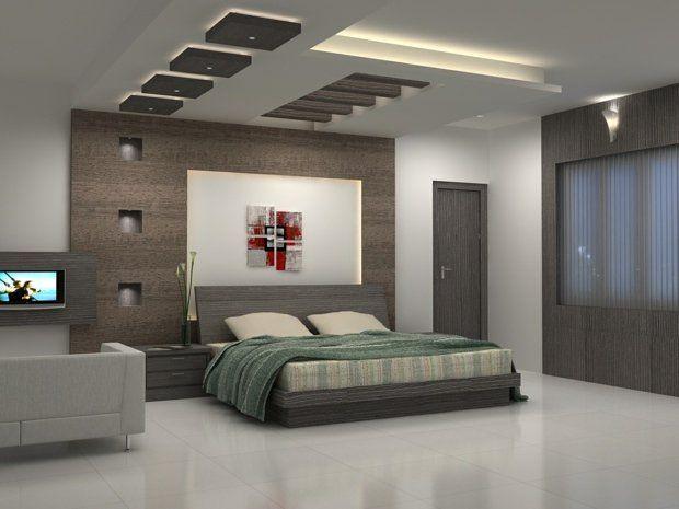 deco plafond chambre coucher