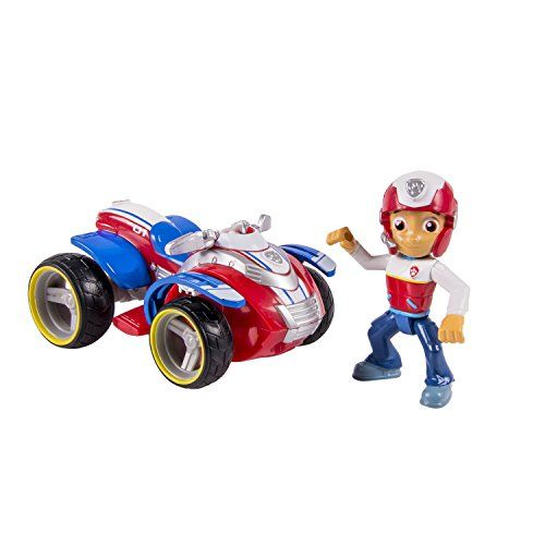 Nickelodeon, Paw Patrol - Ryder's Rescue ATV, Vehicle and Figure (works with Paw Patroller) - No job is too big, no pup too small! Those are the words that Ryder tells them all. Ryder is the heroic leader, rescuer and teacher of the Paw Patrol. Hop on his Rescue ATV and get ready for the adventure of a lifetime! With real working wheels, Ryder can hop on his ATV and rip into action! His a...