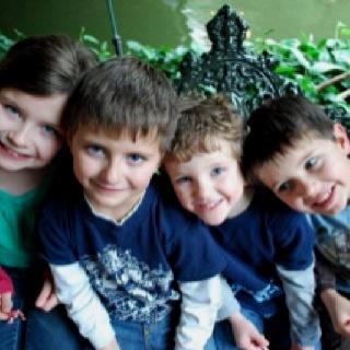 Kaitlyn, Michael, Daniel & Joseph Hafenbredl 2010