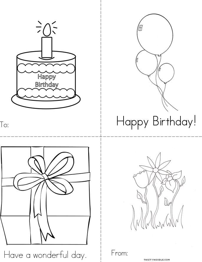 Twisty Noodle Birthday Designs Trend