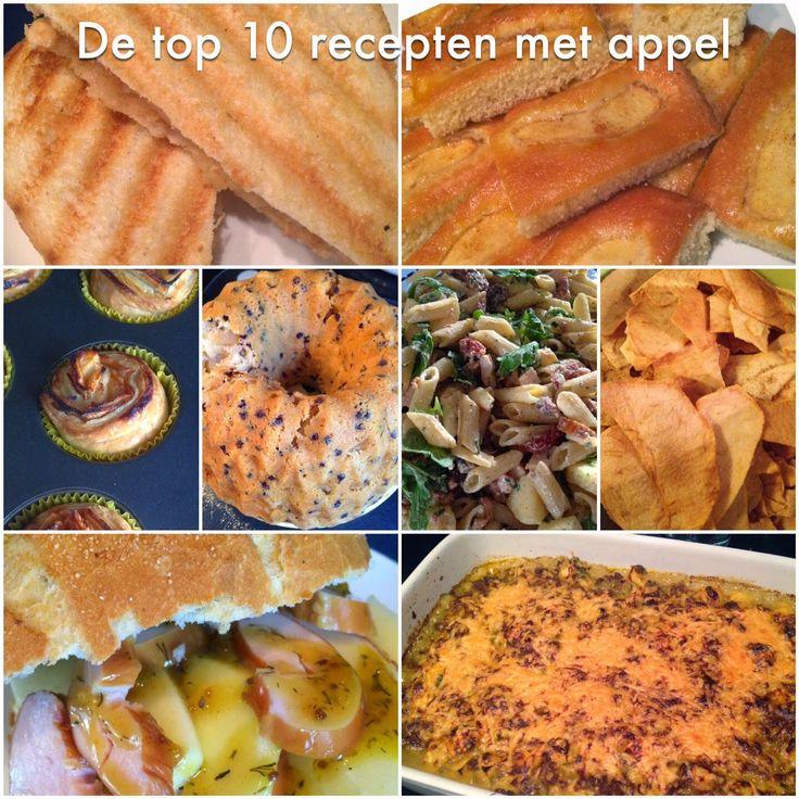 De top 10 recepten met appel