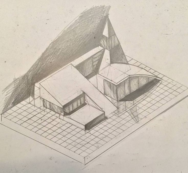 To master drawing and design you need to sometimes combine the same ideas in new different and often challenging contexts! . Double tap for studying an architectural composition in isometric axonometric (and not the usual thumbnail-sketch-perspective approach!) . @freehandarchitecture - Draw and design beast mode!! #architecturesketch #design #drawing #architecture #art #sketching #buildings #perspective #modernarchitect #geometry #composition #visualarchitects #architecturestudent #building…