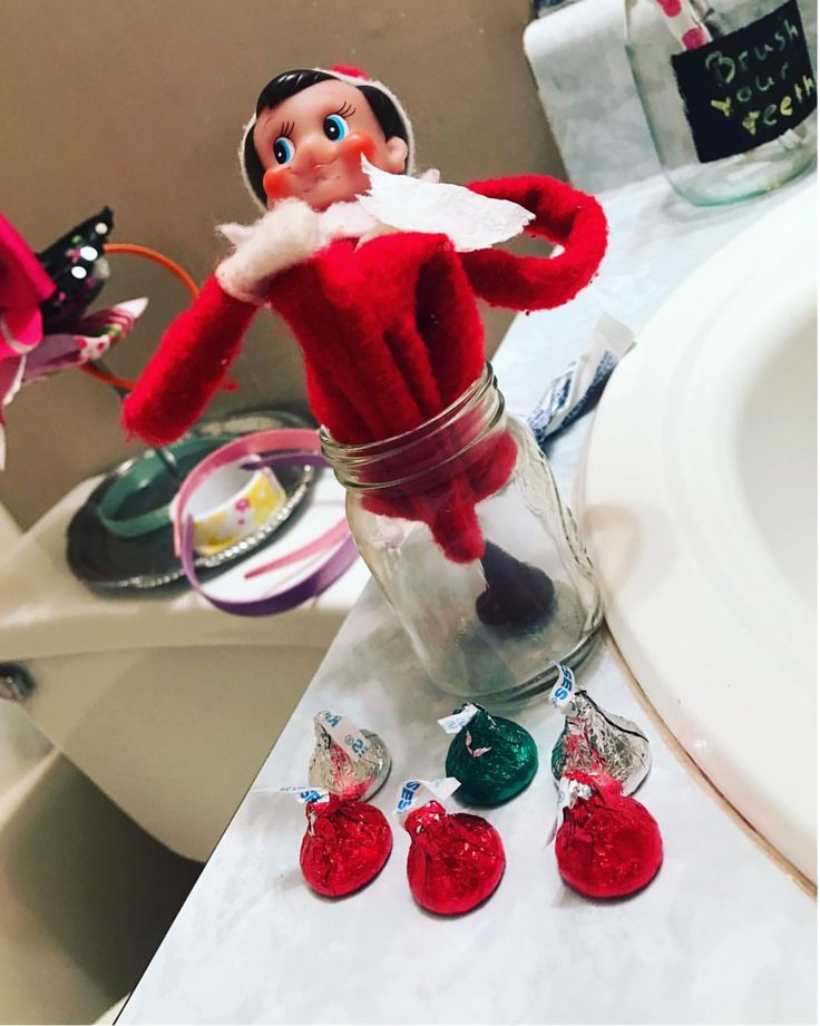 69 best stuff i have made images on pinterest elf on the for Elf on the shelf chocolate kiss